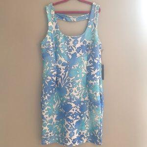 Jennifer Lopez Floral Bodycon Dress